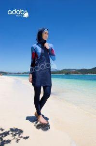 Badeanzug Nazli blau - Burkini