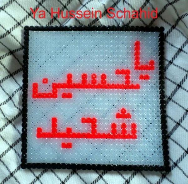 Bügelperlen mit islamischen Motiven
